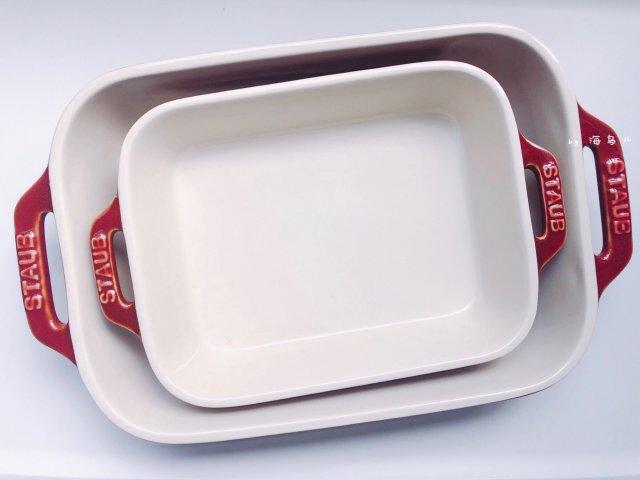 「新货入荷」staub烤盘套装免费拿
