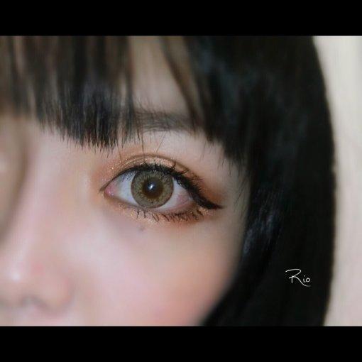印象不太好的美瞳,一戴它我就变成近视的感觉