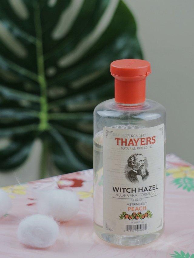 Thayers金缕梅玫瑰水