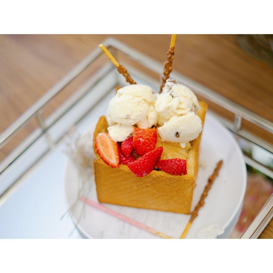 【冰火🔥两重天】冰淇淋吐司🍨颠覆你...