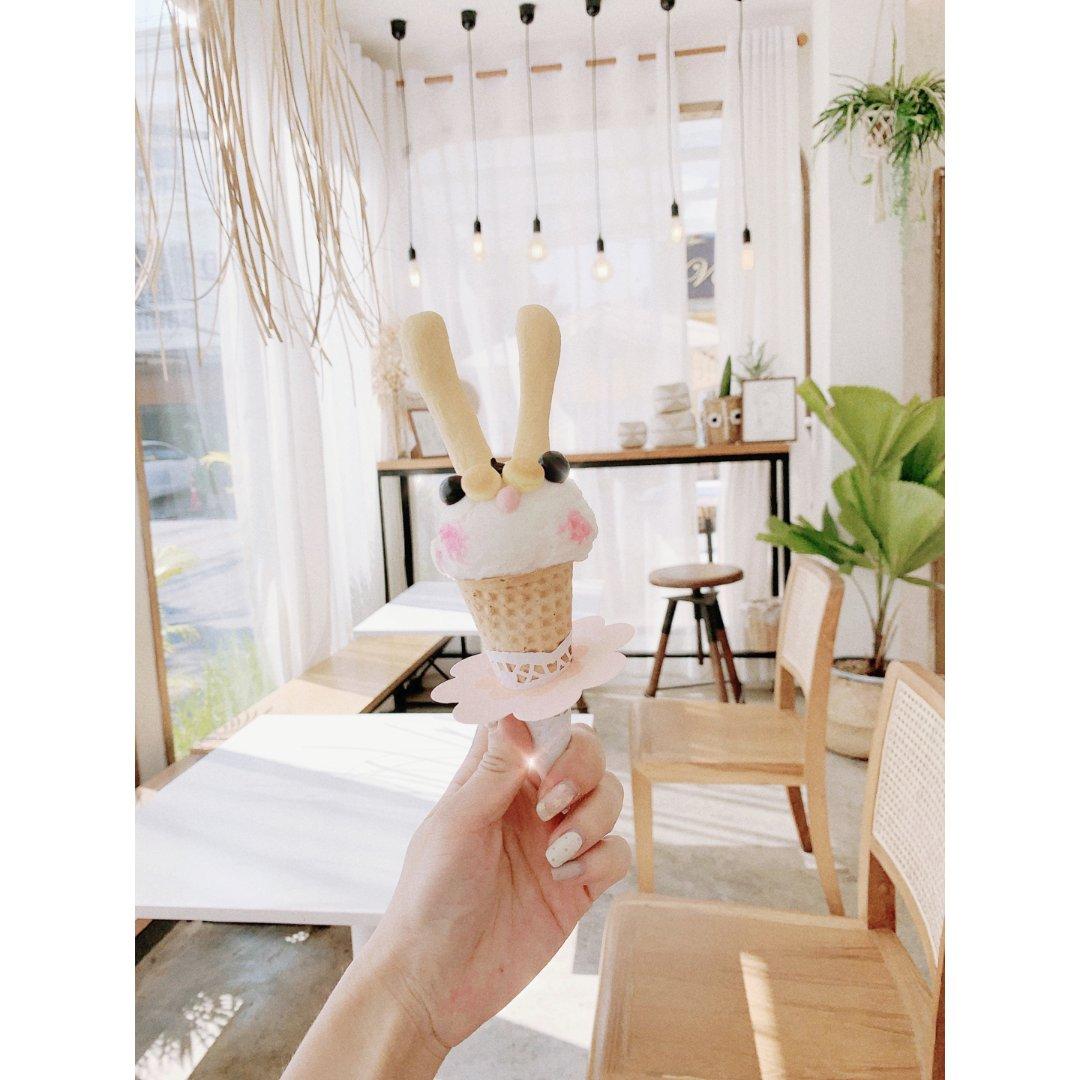 🇹🇭清迈 兔子🐰冰淇淋 🥥 COC...
