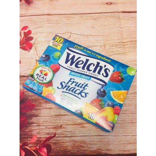 解馋零食-welch's fruit snack