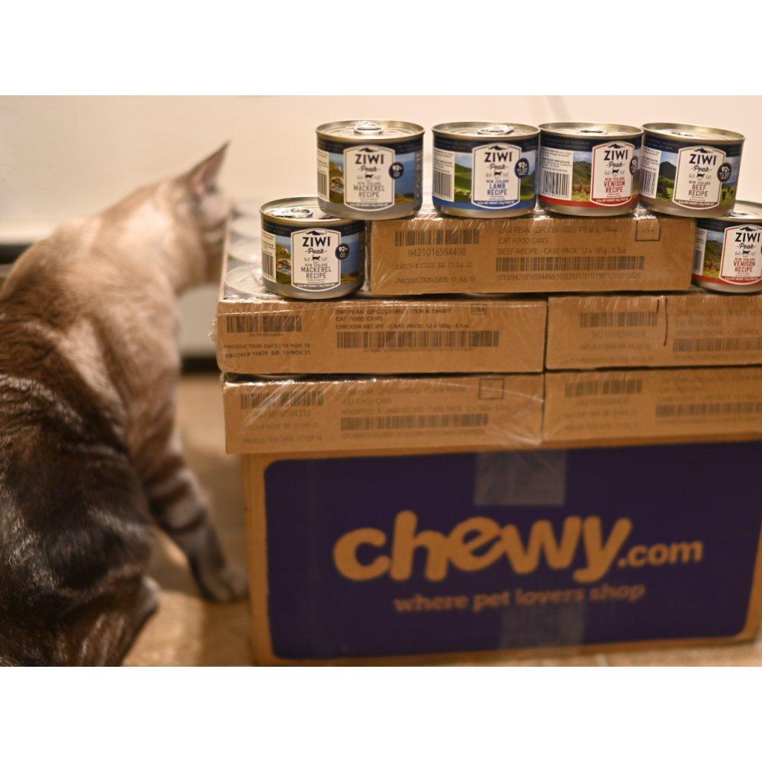 Chewy开箱|ziwi peak猫罐头