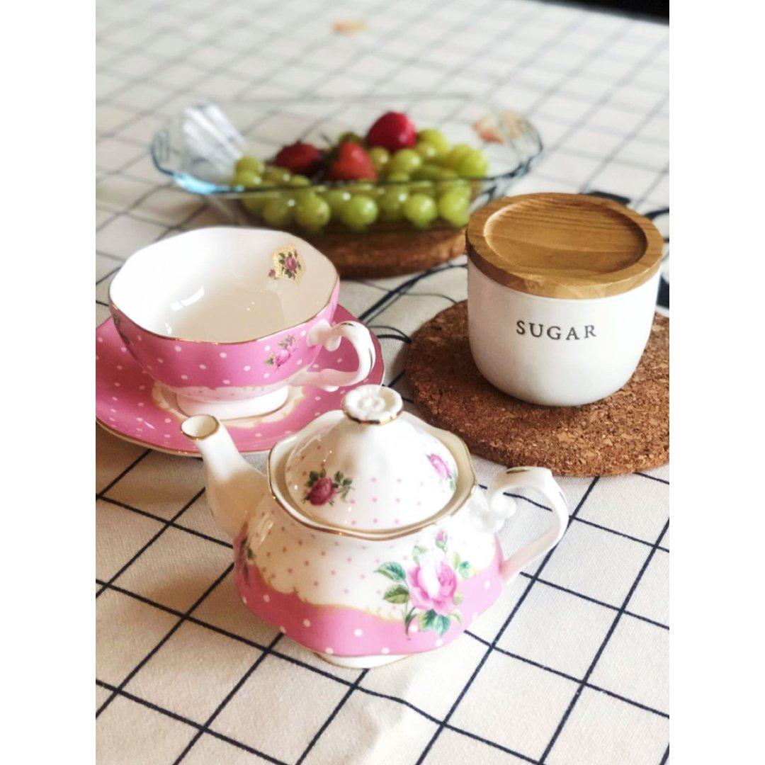 夏日↣少不的下午茶+甜白🍇🍇酒