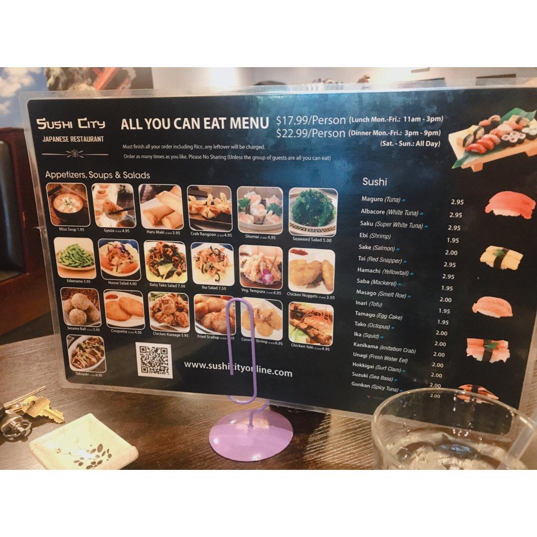 芝加哥郊区餐馆】Sushi Cit...