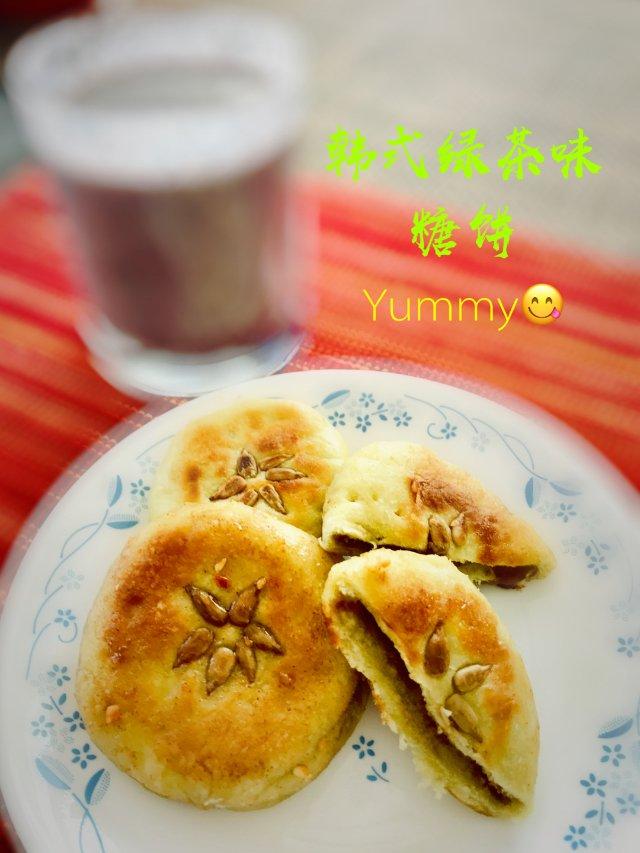 韩式点心DIY:韩式绿茶糖饼🍵🥞