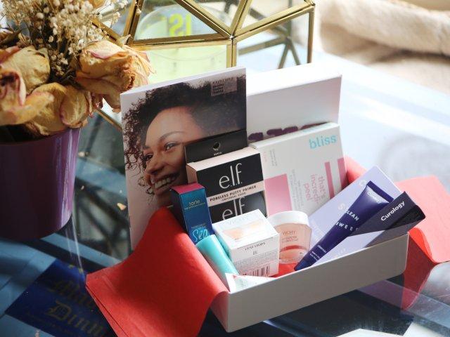 Allure十一月美妆小盒开箱