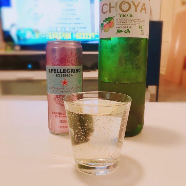 🍐气泡梅子酒~超好喝组合推荐~🍹