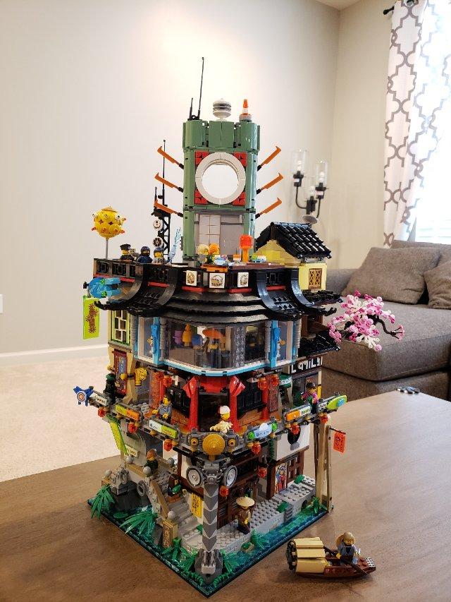 Lego 幻影忍者城