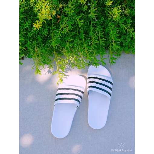 Adidas·Ins网红拖鞋·情侣款