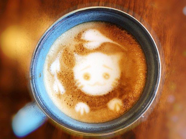 咖啡艺术——新年新技能,画一只萌萌...
