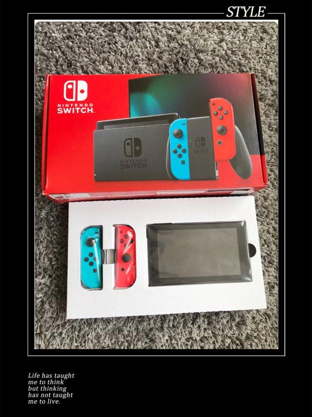 亚马逊买的任天堂Switch终于送...