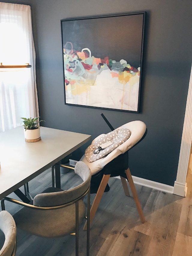 顏值高而且能伴隨寶寶成長的兒童餐椅