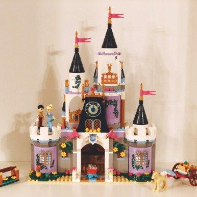迪斯尼系列 灰姑娘城堡 41154