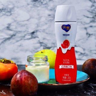 饮品推荐-超美味的蒙牛纯甄西柚酸奶,喝出...