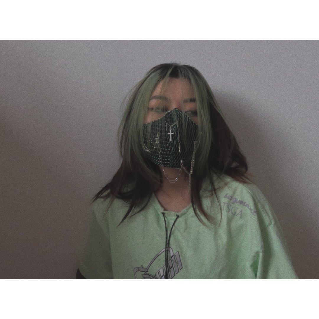 自己做个口罩就要有意思呀!