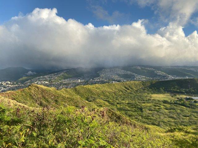【旅行】💎钻石山日出彩虹🌈—夏威夷游记📷