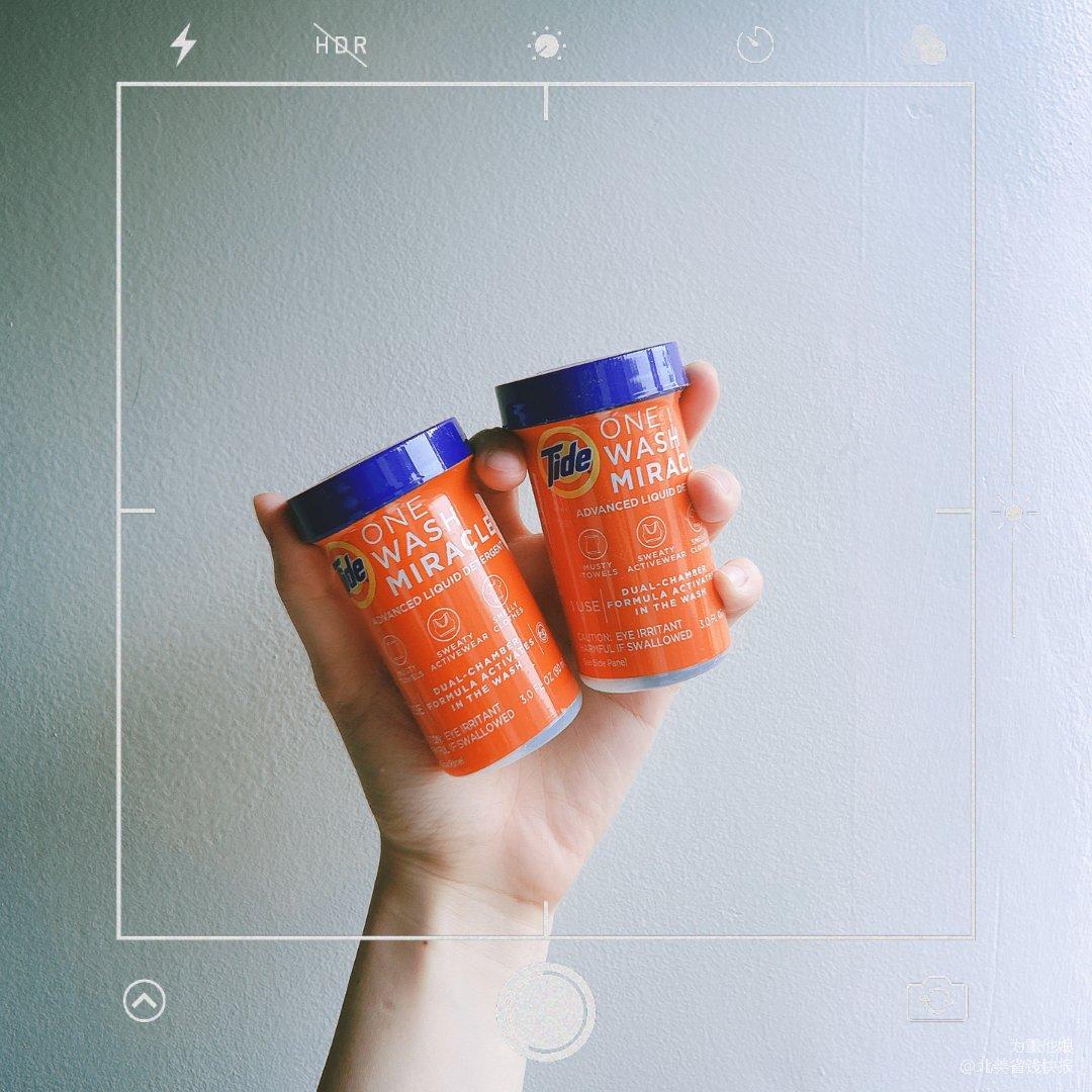 还是熟悉的汰渍🧡💙人小本事大的小橘罐🧡💙