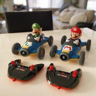 马里奥兄弟遥控赛车也太可爱了吧!...