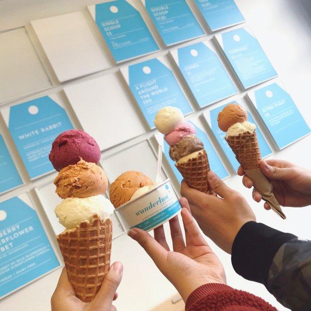 大白兔奶糖🍬冰淇淋