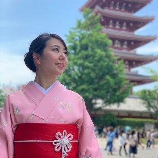 去年此時我在哪|穿著和服👘暢遊東京淺草寺...