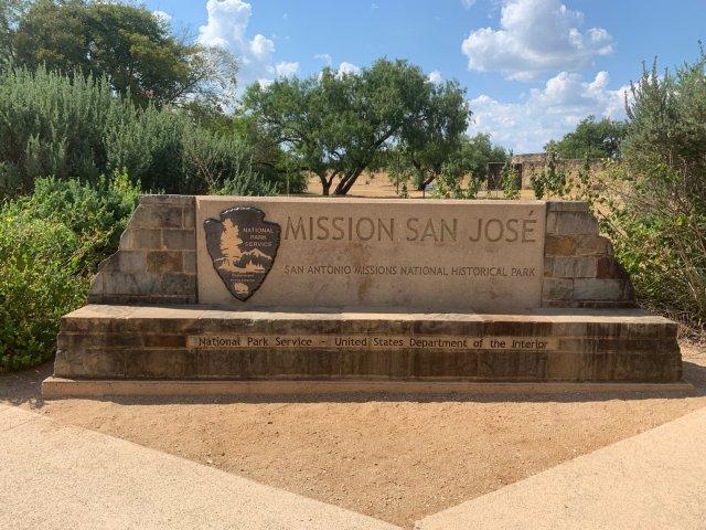 San Antonio的国家历史公园