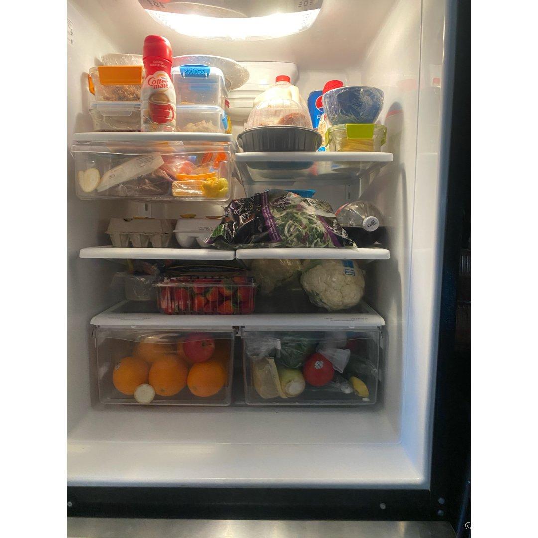 如果再给我一个冰箱我也能塞满