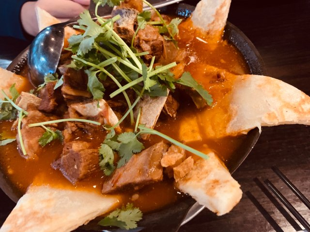 周末觅食记4⃣️ 番茄羊肉锅