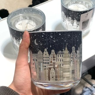 Townhouse Light Up Candle | M&S