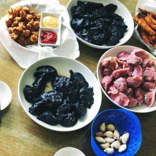 花式吃饺子【三鲜饺子】&【荠菜肉】...