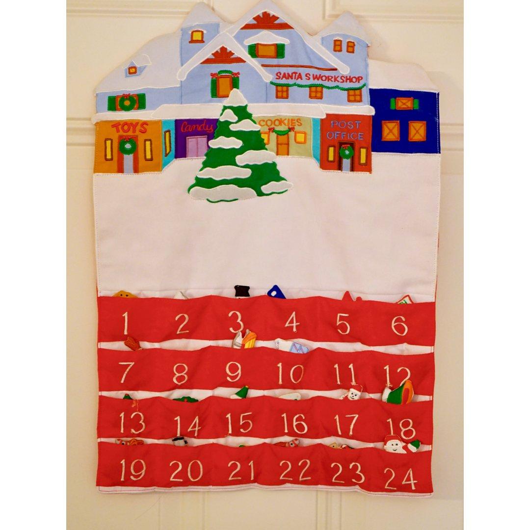 不定期圣诞装饰分享——圣诞倒数日历