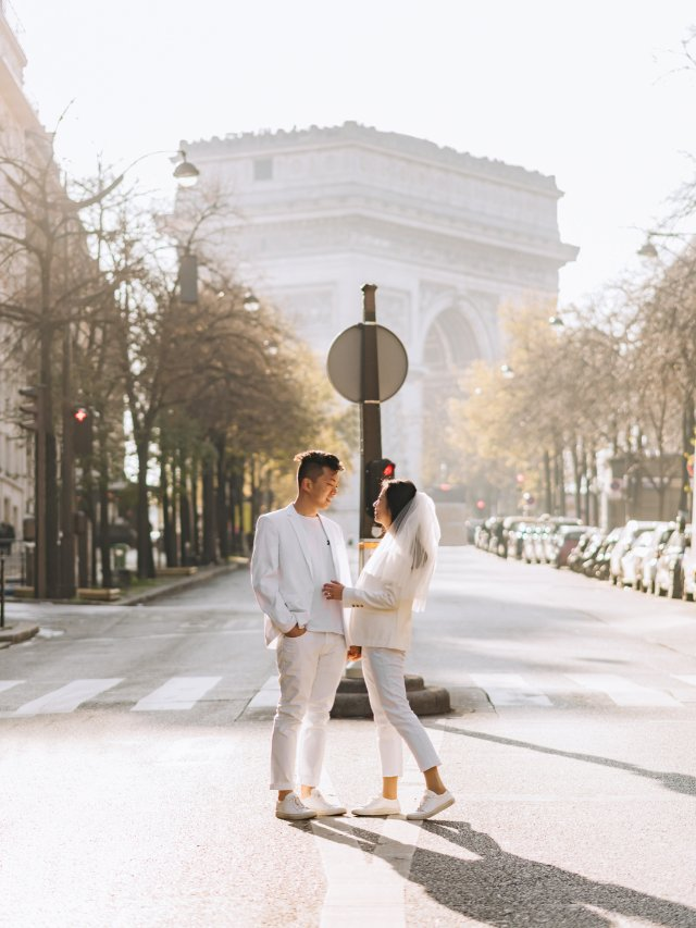 巴黎 💍 engagement p...