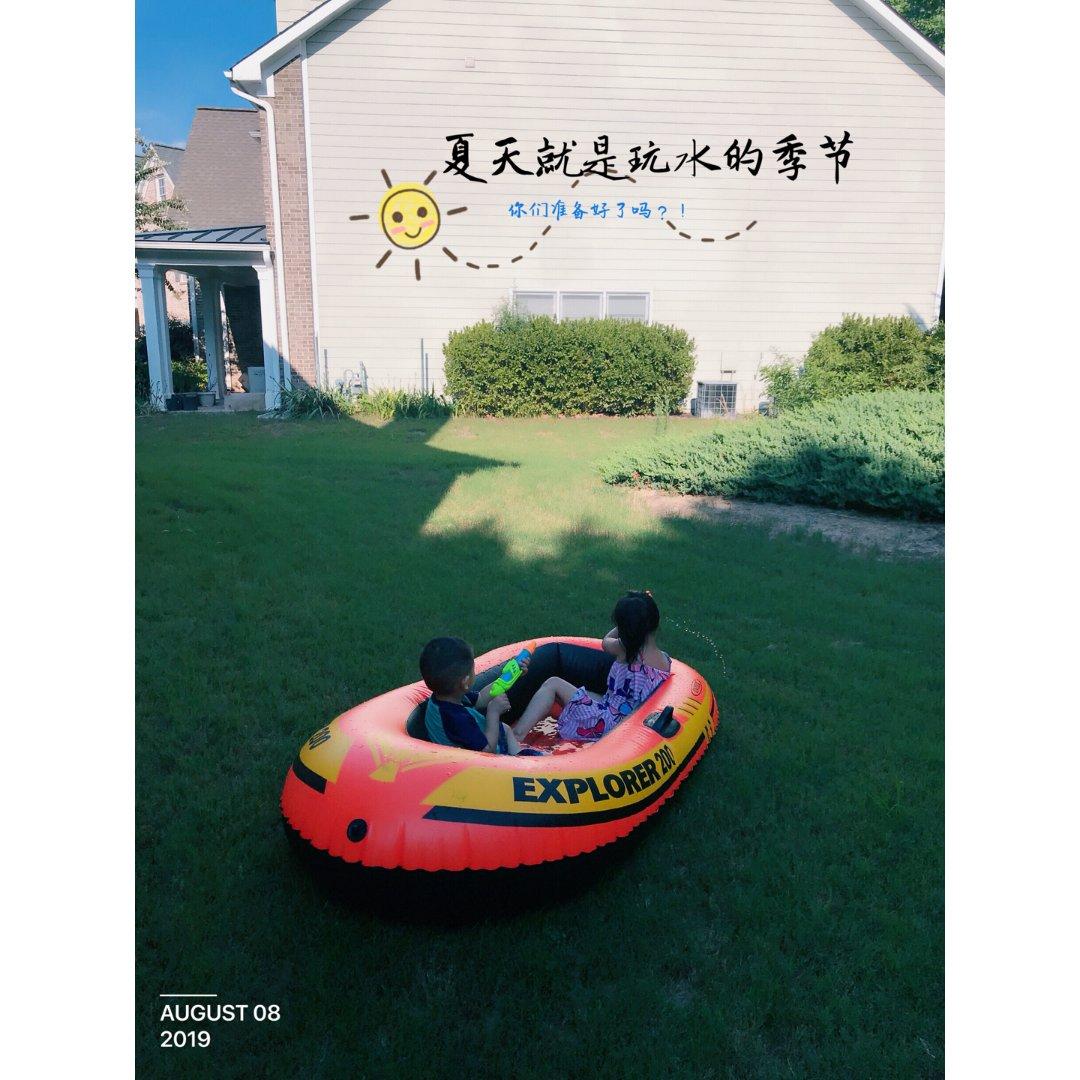 《家里有宝》夏天就是玩水的季节❤︎...