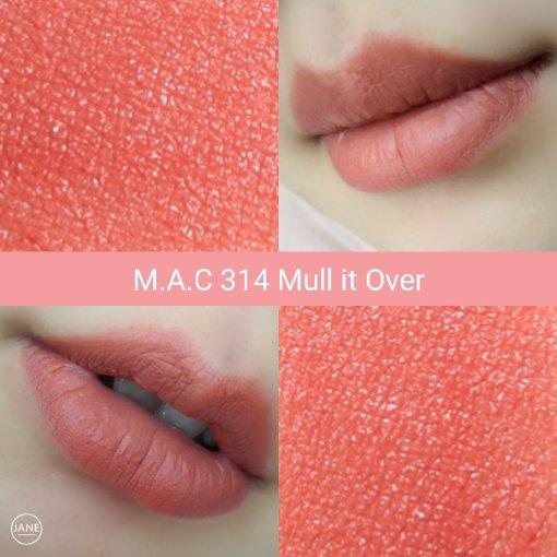 【试色】到处断货的MAC 314 Mull it over
