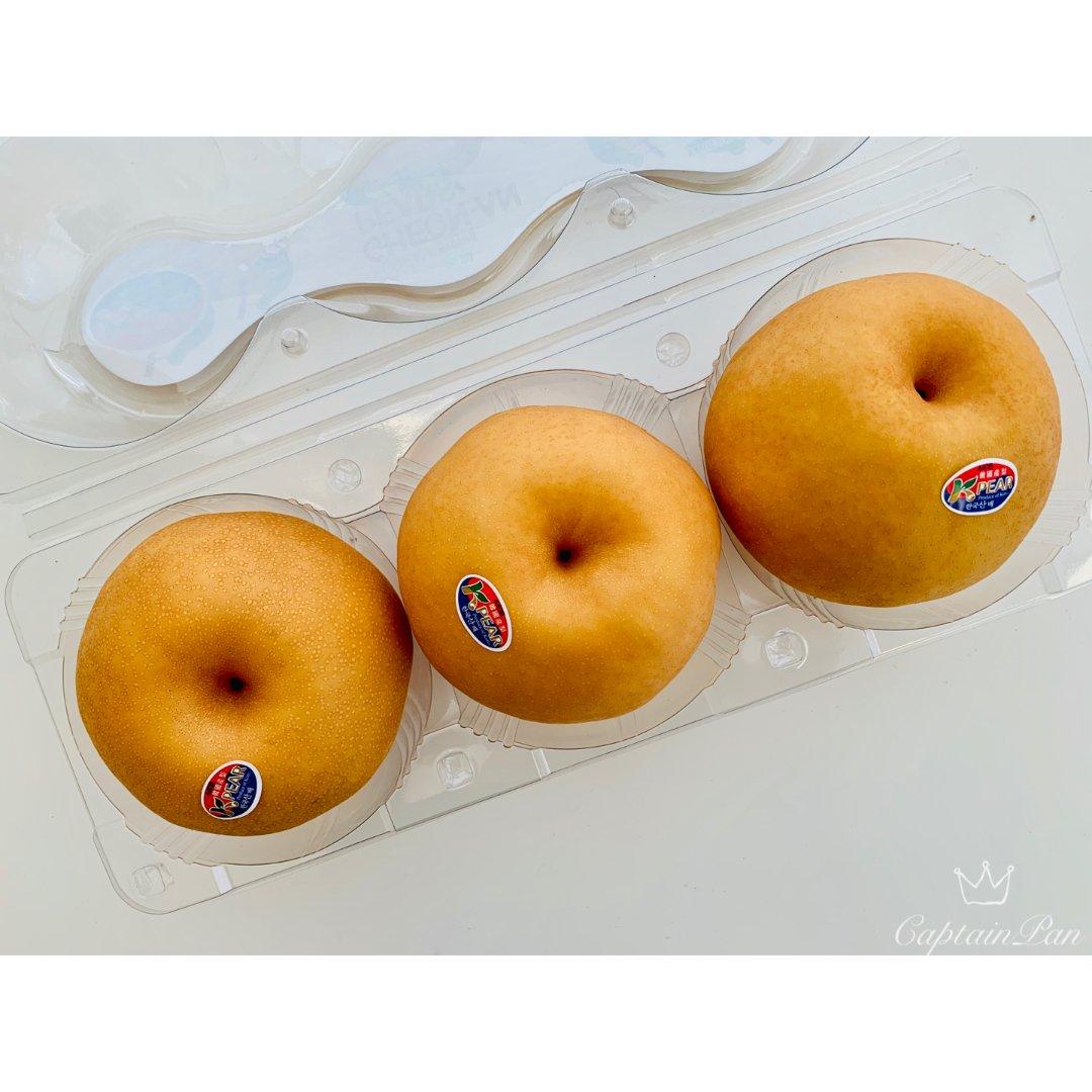 美食 Hmart购鲜嫩多汁的大梨