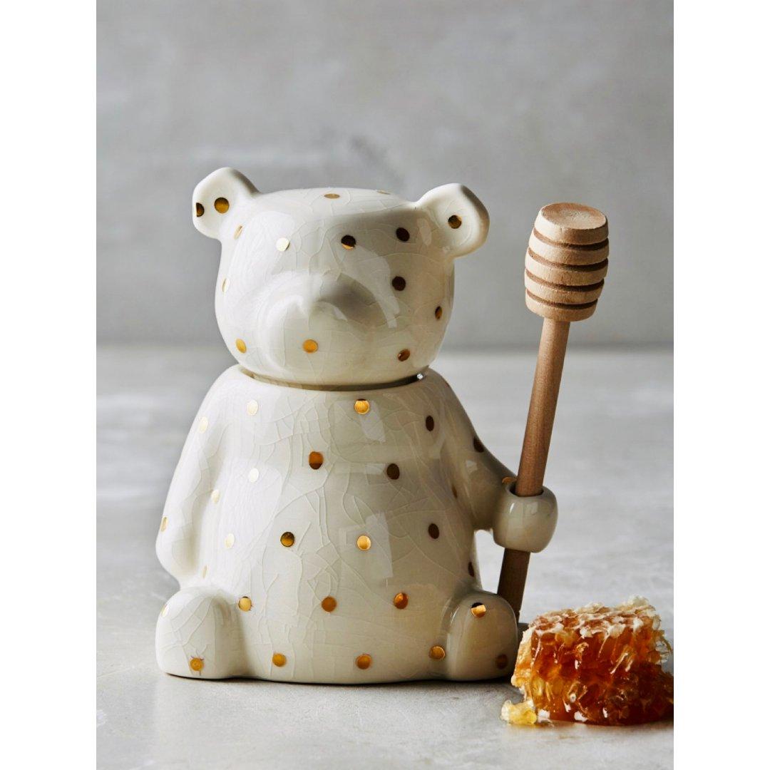 Anthropologie小熊🧸蜂蜜罐