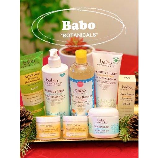 Babo植物系列洗护用品 拯救敏感肌和湿疹皮肤❣️