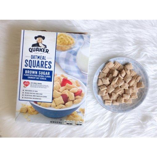 【美味早餐】Quaker Oatmeal Squares麦片