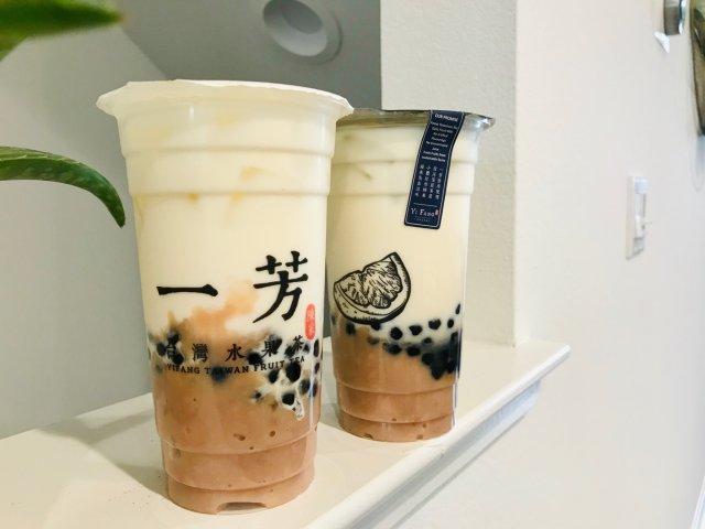 非常时期能喝到奶茶🥤真的好满足❤️