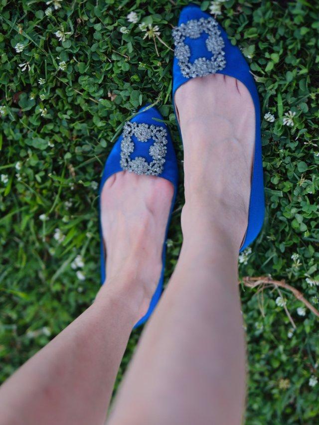 第一双MB钻扣鞋,伴随我整个孕期