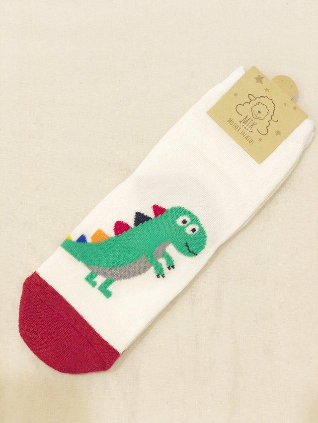 可爱恐龙袜