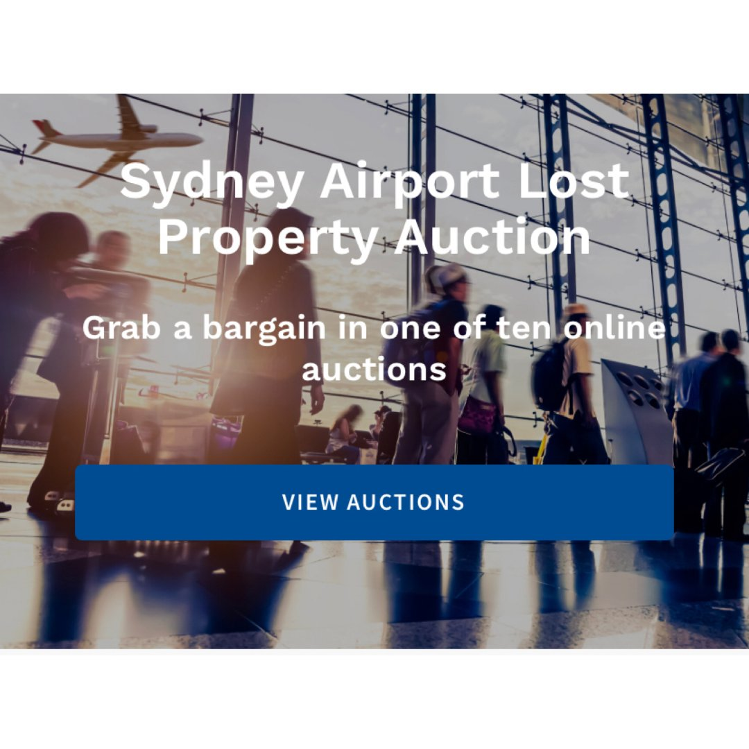 Sydney Airport Lost Property Auction