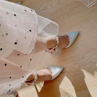 每个女人都想拥有一双晶莹剔透的水晶鞋👠...