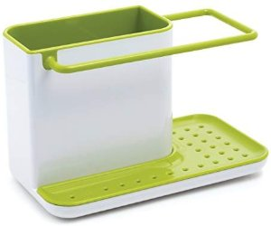 Amazon.com: Joseph Joseph 85021 Sink Caddy Kitchen Sink Organizer Sponge Holder Dishwasher-Safe, Regular, Green: Kitchen Tool Sets: Kitchen & Dining