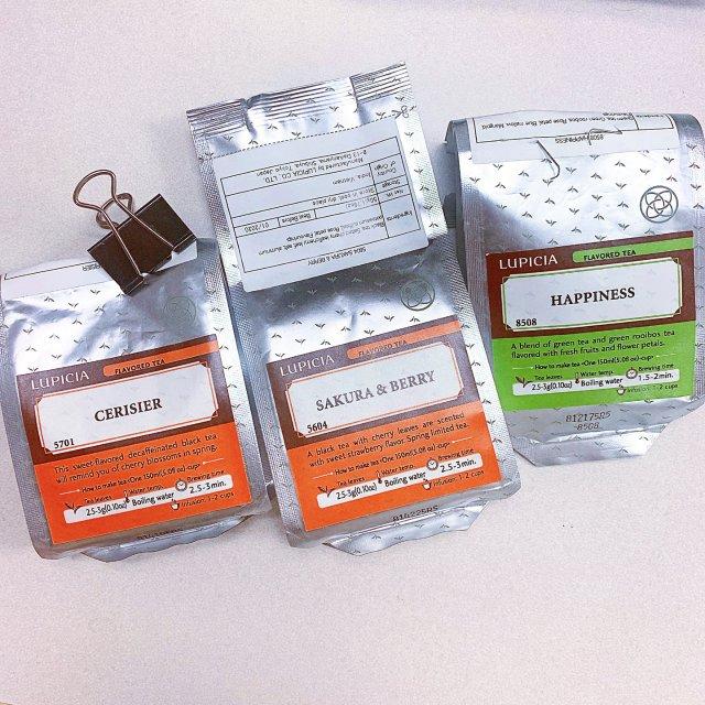备受好评的Lupicia花🌸茶🍵