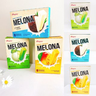 这款网红MELONA水果味棒冰,你吃过了...