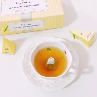 【微众测】我的茶包头上长草啦—Tea Forte什锦茶盒