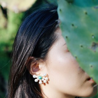【MMAGPY】🌵马约尔花园 白夜蒲公英耳环