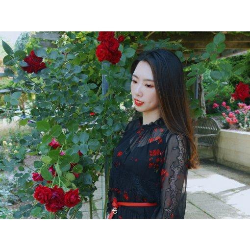 🌹Ecru微众测 | 暗夜玫瑰,做自己的夜礼服假面