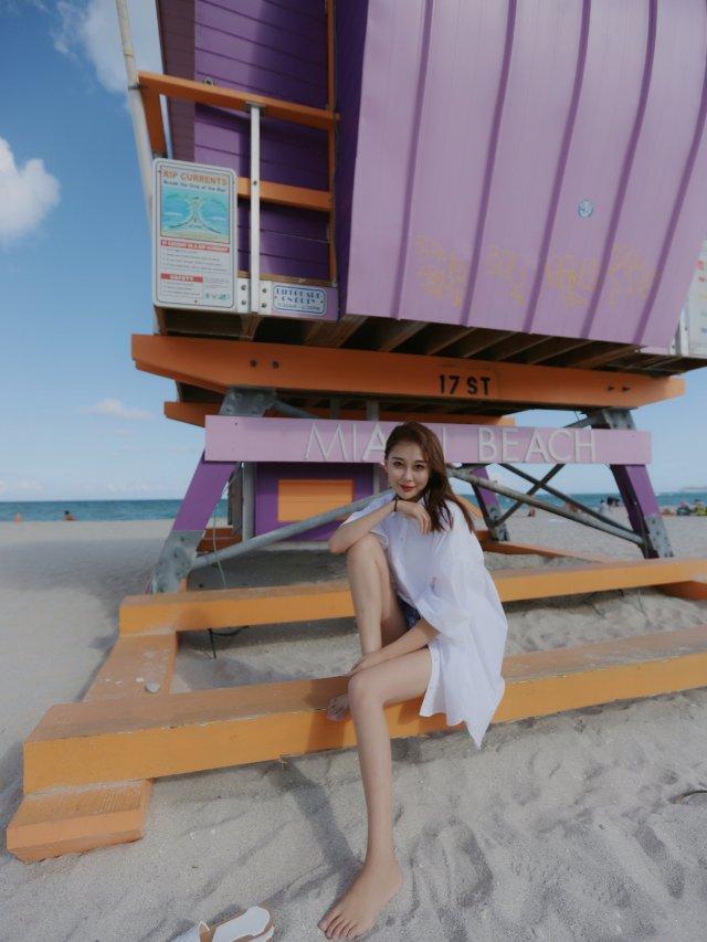 度假穿搭OOTD🏖️衬衫和海边也很搭